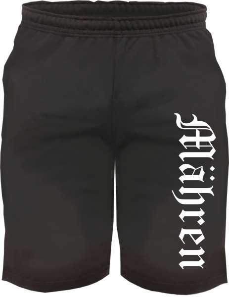 Mähren Sweatshorts - Altdeutsch bedruckt - Kurze Hose Shorts