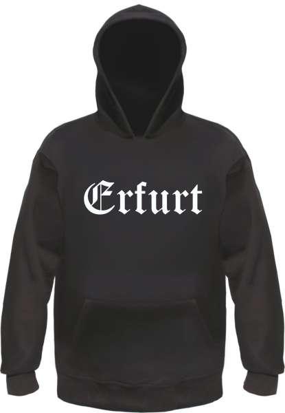 Erfurt Kapuzensweatshirt - Altdeutsch - bedruckt - Hoodie Kapuzenpullover