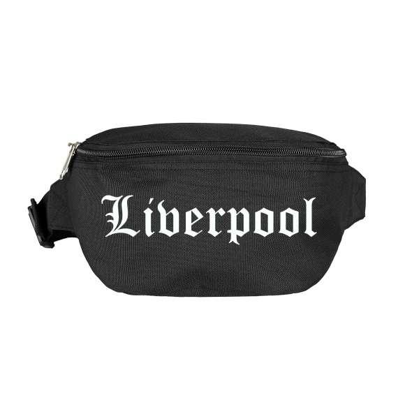 Liverpool Bauchtasche - Altdeutsch bedruckt - Gürteltasche Hipbag