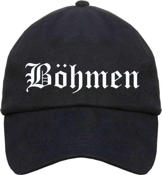 Böhmen Cappy - Altdeutsch bedruckt - Schirmmütze Cap