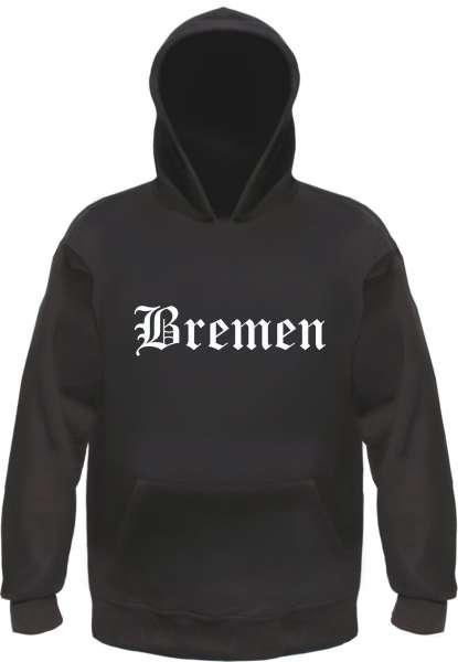Bremen Kapuzensweatshirt - Altdeutsch - bedruckt - Hoodie Kapuzenpullover