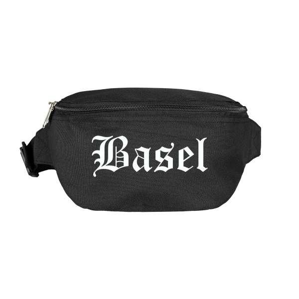 Basel Bauchtasche - Altdeutsch bedruckt - Gürteltasche Hipbag