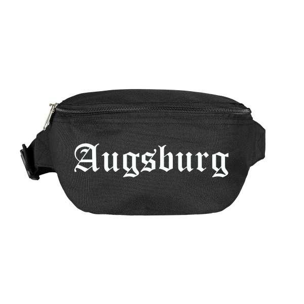 Augsburg Bauchtasche - Altdeutsch bedruckt - Gürteltasche Hipbag