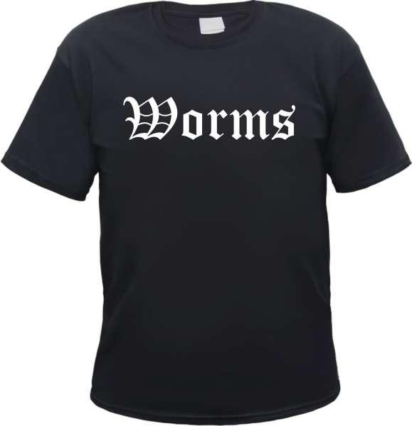 Worms Herren T-Shirt - Altdeutsch - Tee Shirt