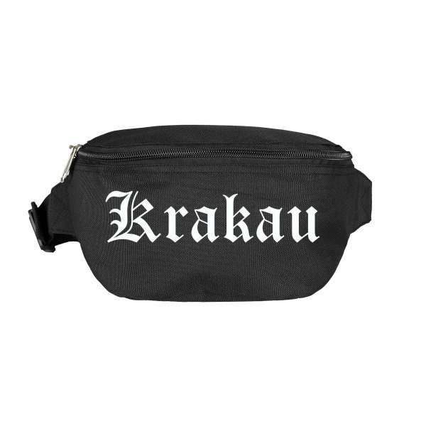 Krakau Bauchtasche - Altdeutsch bedruckt - Gürteltasche Hipbag