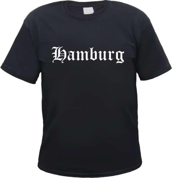 Hamburg Herren T-Shirt - Altdeutsch - Tee Shirt