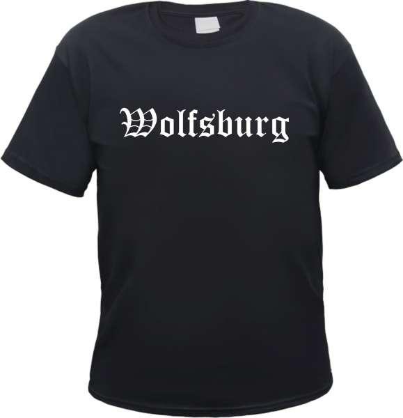 Wolfsburg Herren T-Shirt - Altdeutsch - Tee Shirt
