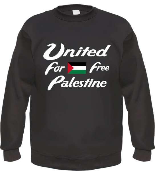 United Free Palestine Sweatshirt - bedruckt - Pullover