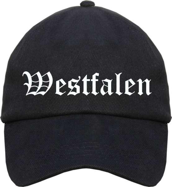 Westfalen Cappy - Altdeutsch bedruckt - Schirmmütze Cap