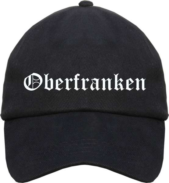 Oberfranken Cappy - Altdeutsch bedruckt - Schirmmütze Cap