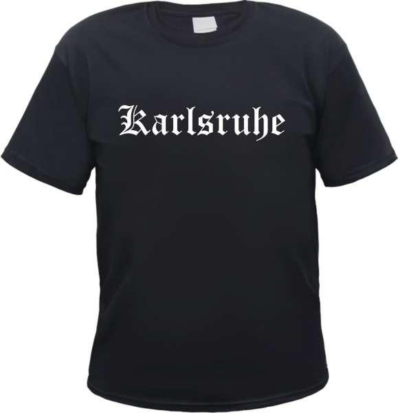 Karlsruhe Herren T-Shirt - Altdeutsch - Tee Shirt