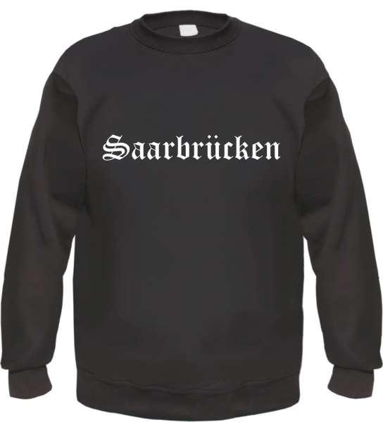 Saarbrücken Sweatshirt - Altdeutsch - bedruckt - Pullover