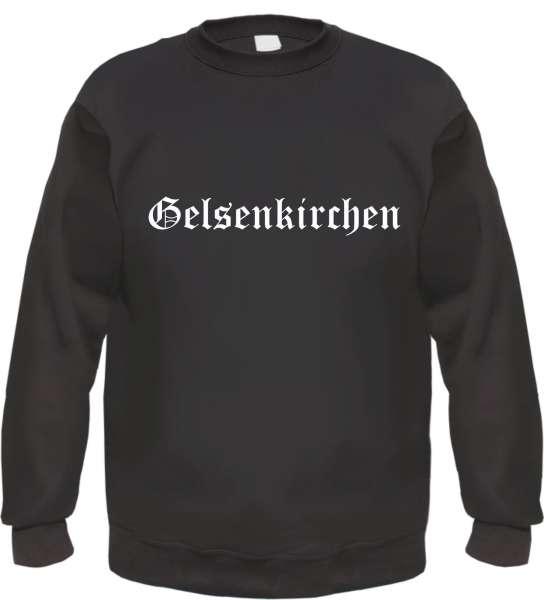 Gelsenkirchen Sweatshirt - Altdeutsch - bedruckt - Pullover