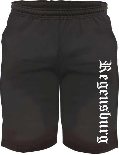 Regensburg Sweatshorts - Altdeutsch bedruckt - Kurze Hose Shorts