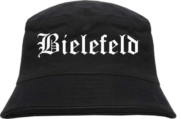 Bielefeld Fischerhut - Altdeutsch - bedruckt - Bucket Hat Anglerhut Hut
