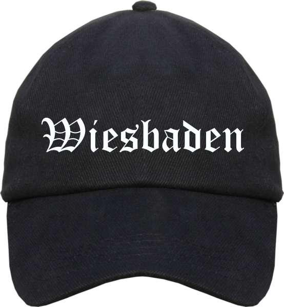 Wiesbaden Cappy - Altdeutsch bedruckt - Schirmmütze Cap