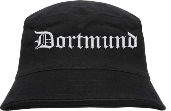 Dortmund Fischerhut - Altdeutsch - bestickt - Bucket Hat Anglerhut Hut