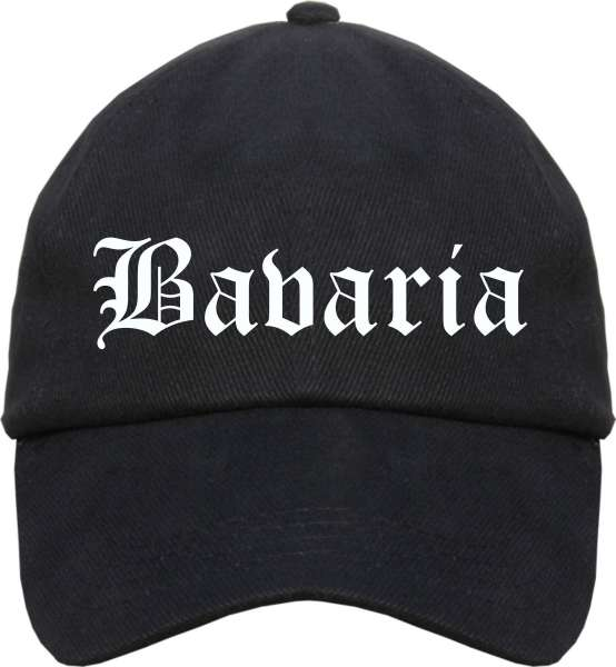 Bavaria Cappy - Altdeutsch bedruckt - Schirmmütze Cap