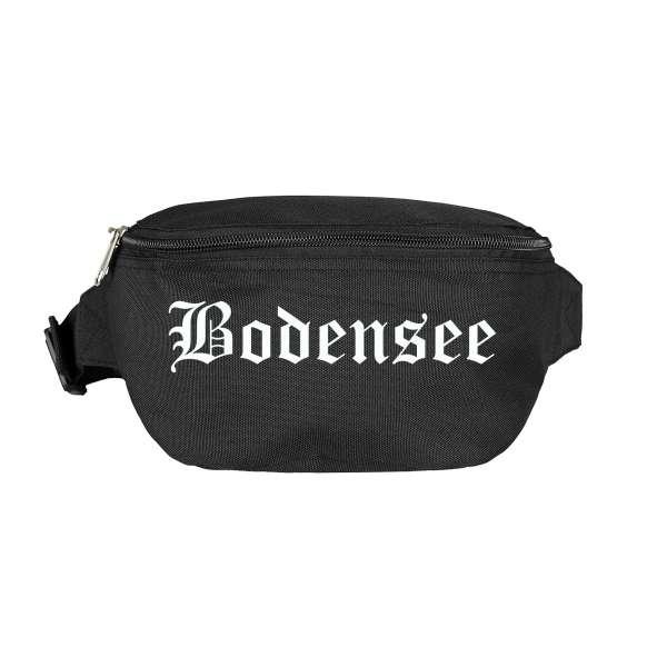 Bodensee Bauchtasche - Altdeutsch bedruckt - Gürteltasche Hipbag