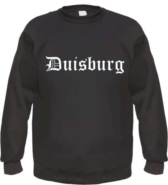 Duisburg Sweatshirt - Altdeutsch - bedruckt - Pullover