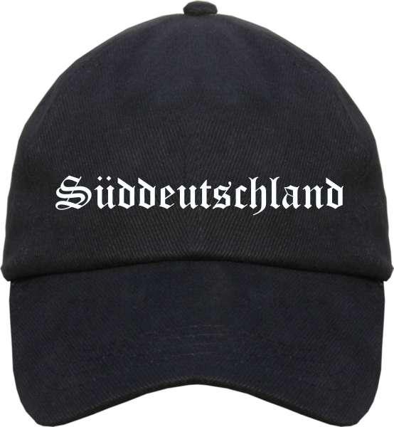 Süddeutschland Cappy - Altdeutsch bedruckt - Schirmmütze Cap