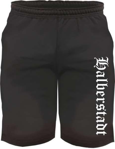 Halberstadt Sweatshorts - Altdeutsch bedruckt - Kurze Hose Shorts