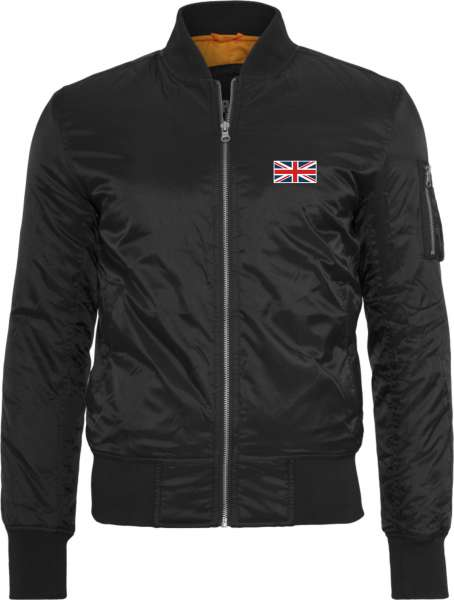 Union Jack Great Britain Bomberjacke - bestickt -