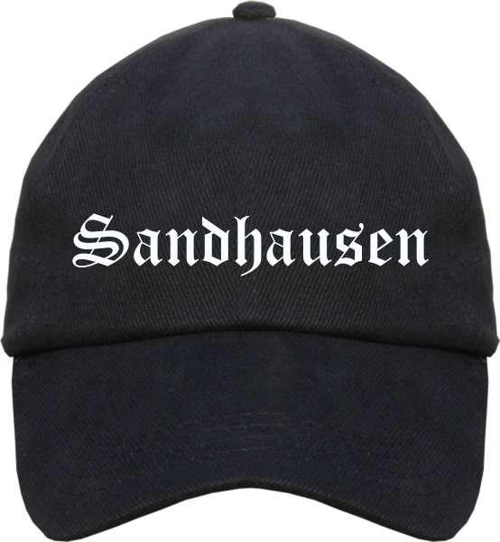 Sandhausen Cappy - Altdeutsch bedruckt - Schirmmütze Cap