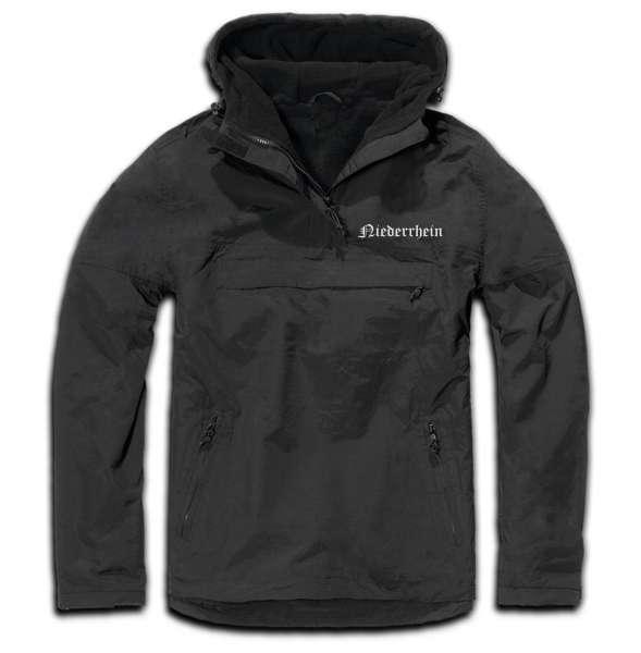 Niederrhein Windbreaker - Altdeutsch - bestickt - Winterjacke Jacke