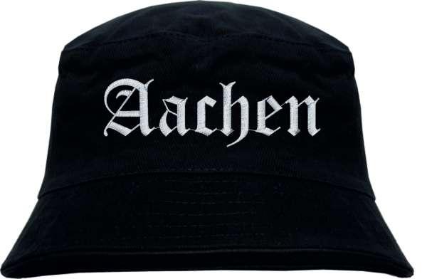 Aachen Fischerhut - Bucket Hat - bestickt - Anglerhut Hut