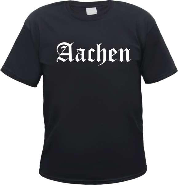 Aachen Herren T-Shirt - Altdeutsch - Tee Shirt