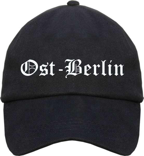 Ost-Berlin Cappy - Altdeutsch bedruckt - Schirmmütze Cap