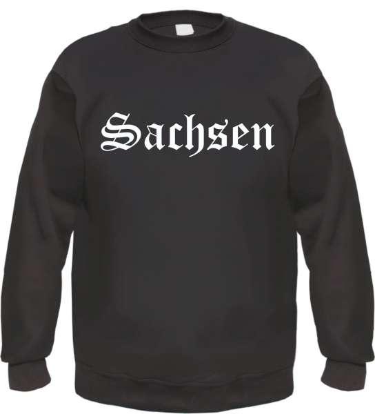 Sachsen Sweatshirt - Altdeutsch - bedruckt - Pullover