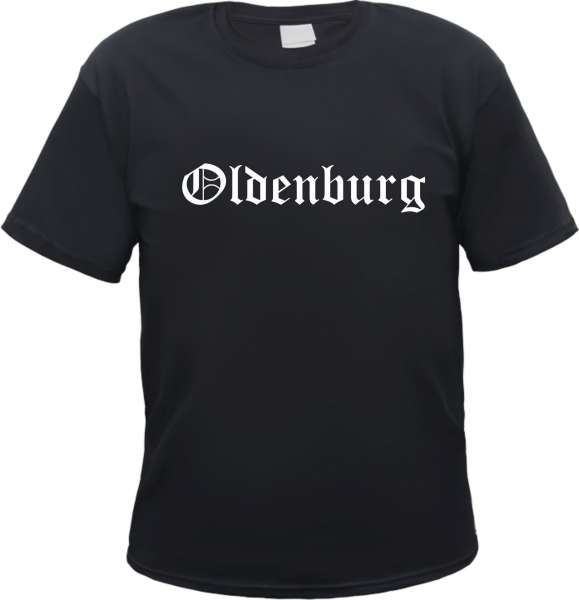 Oldenburg Herren T-Shirt - Altdeutsch - Tee Shirt