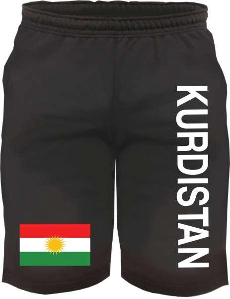 Kurdistan Sweatshorts - bedruckt - Kurze Hose Shorts Flagge