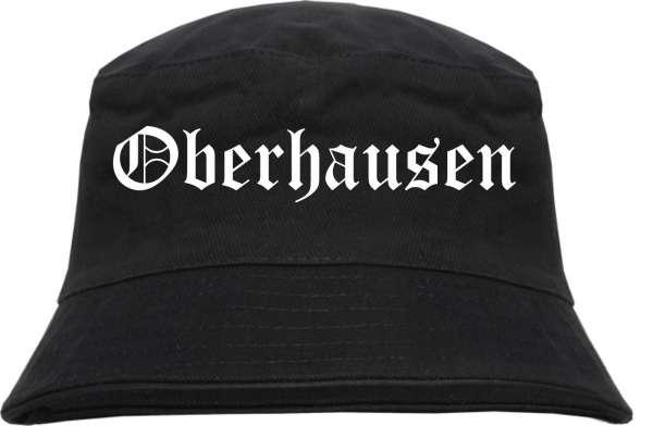 Oberhausen Fischerhut - Altdeutsch - bedruckt - Bucket Hat Anglerhut Hut