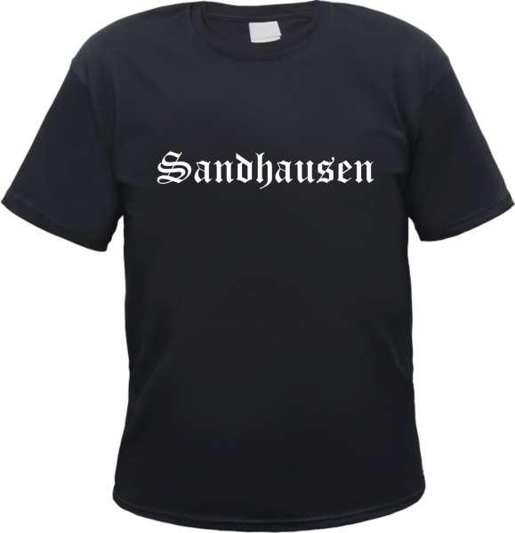 Sandhausen Herren T-Shirt - Altdeutsch - Tee Shirt