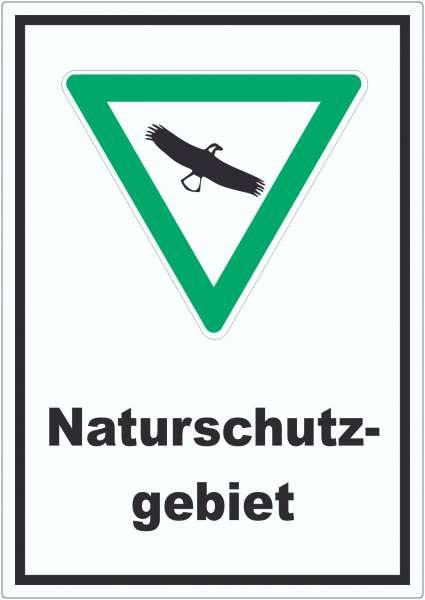 Naturschutzgebiet Aufkleber