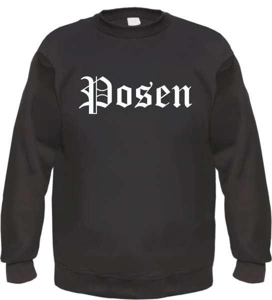 Posen Sweatshirt - Altdeutsch - bedruckt - Pullover
