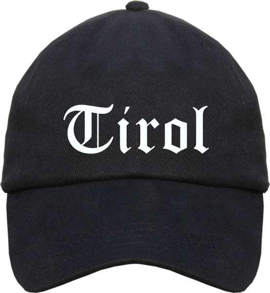 Tirol Cappy - Altdeutsch bedruckt - Schirmmütze Cap