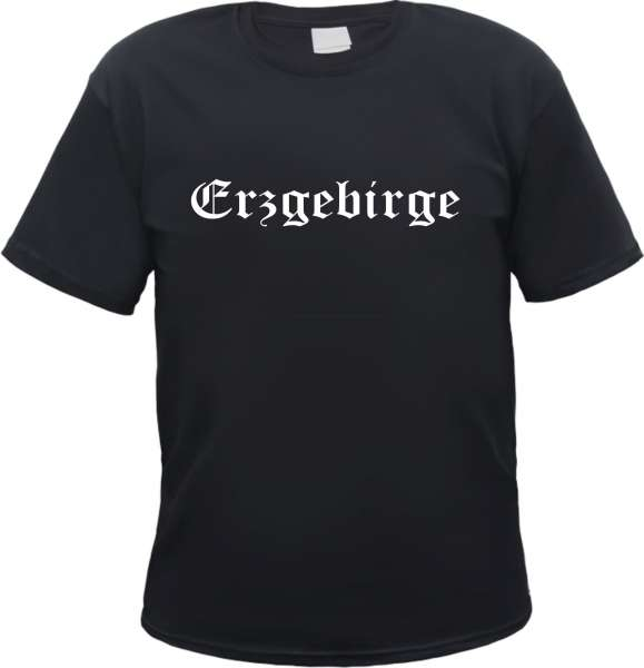 Erzgebirge Herren T-Shirt - Altdeutsch - Tee Shirt