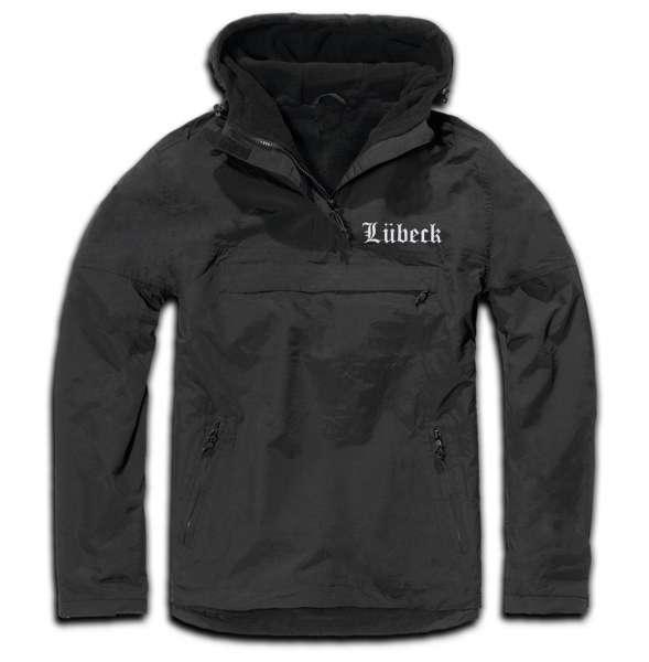 Lübeck Windbreaker - Altdeutsch - bestickt - Winterjacke Jacke