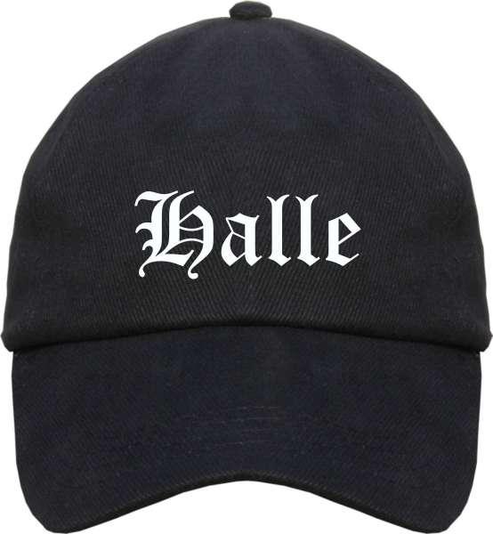 Halle Cappy - Altdeutsch bedruckt - Schirmmütze Cap