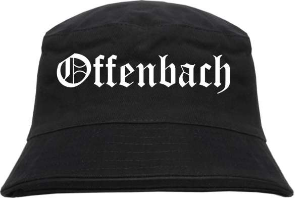 Offenbach Fischerhut - Altdeutsch - bedruckt - Bucket Hat Anglerhut Hut