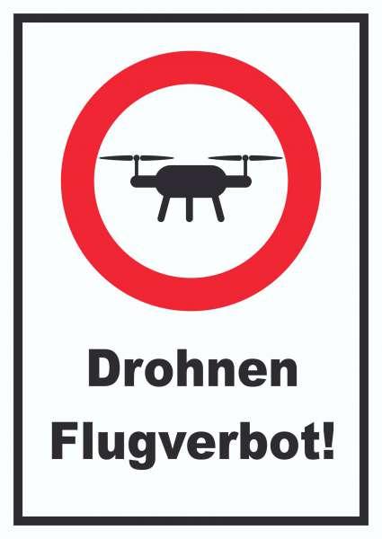 Drohnen Flugverbot Schild