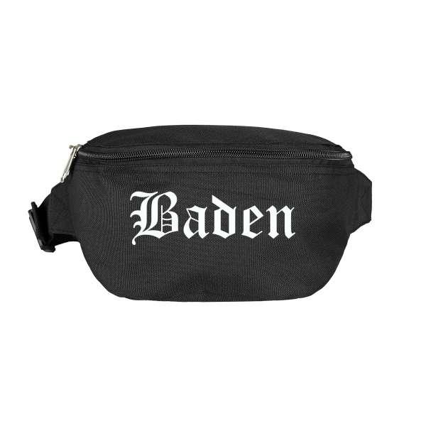 Baden Bauchtasche - Altdeutsch bedruckt - Gürteltasche Hipbag