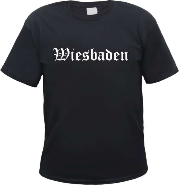 Wiesbaden Herren T-Shirt - Altdeutsch - Tee Shirt