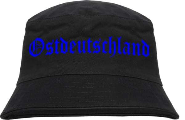 Ostdeutschland Fischerhut - Druckfarbe Blau - Bucket Hat