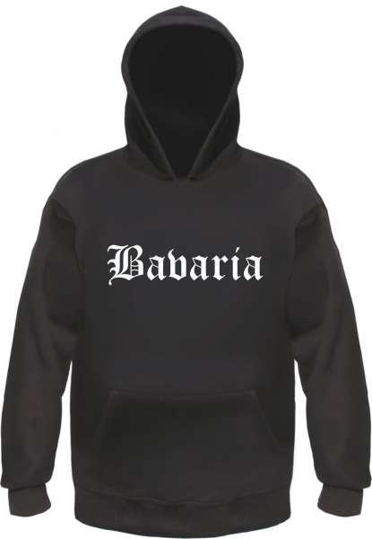 Bavaria Kapuzensweatshirt - Altdeutsch - bedruckt - Hoodie Kapuzenpullover