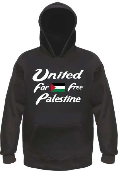 United for a free Palestine Kapuzensweatshirt - Hoodie - Palästina